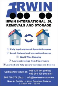 Irwin International Removals Services SL